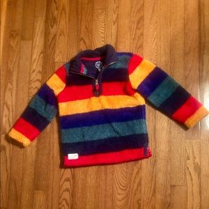 Joules Fleece Colorful Pullover 6T